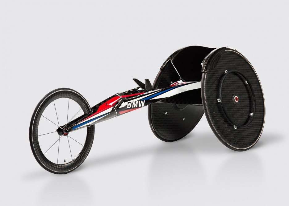 bmw racing wheelchair design dezeen ban 936x669 - How Disabled Athletes Train For The Paralympics