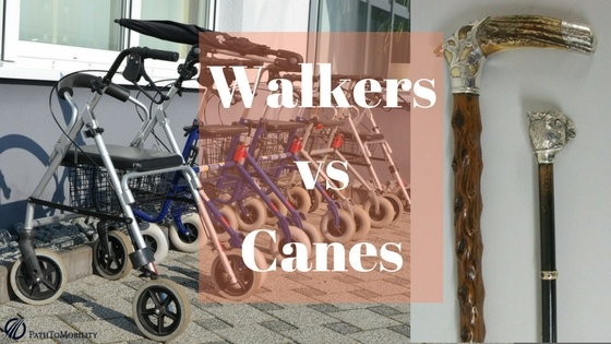 Walkers vs Canes: which one to choose