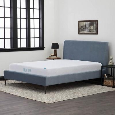 2 lucid 10inch gel memory foam mattress