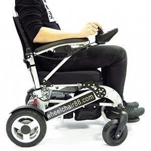 Foldawheel powerchair wheelchair